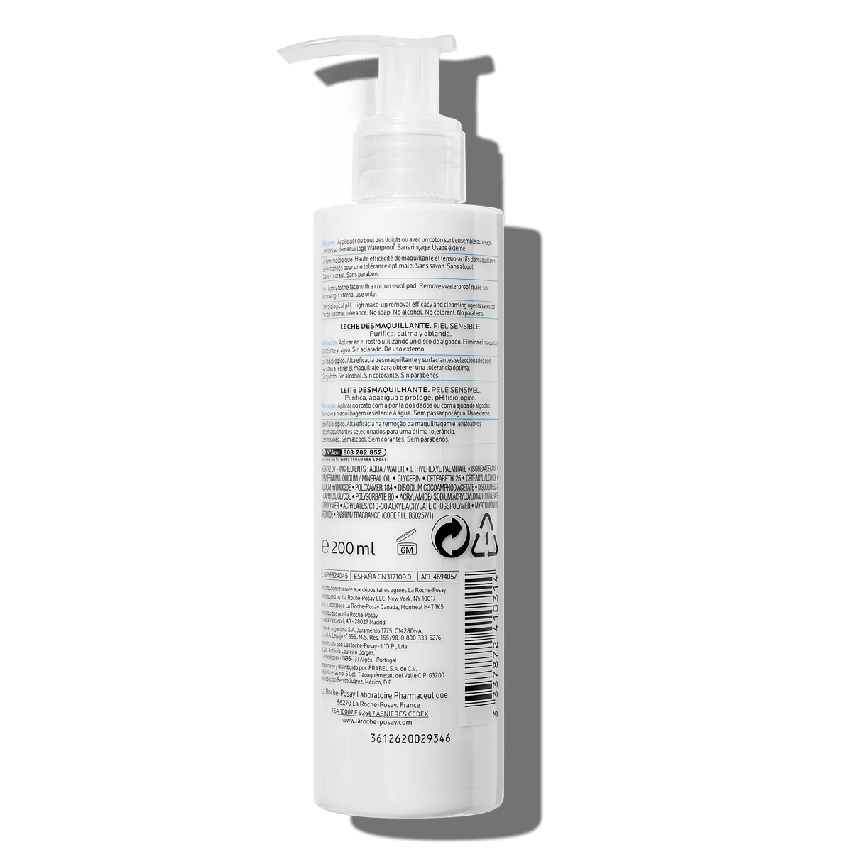 La Roche Posay ProductPage Face Cleanser Physiological Make Up Remover